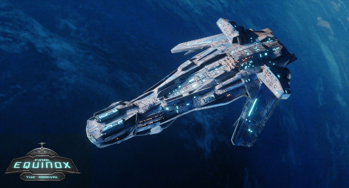 Galactic Commonwealth Destroyer Class Ship