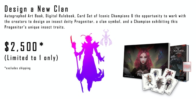 Create a new Clan - $2,500 (limited to 1 only)