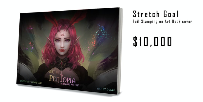 Stretch Goal #2 - Foil Stamping on Cover