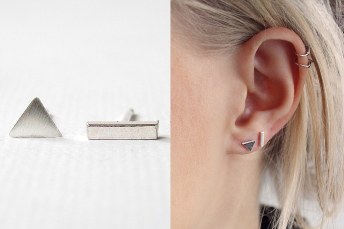 Pledge £20 or more and receive WILD FAWN JEWELLERY: MISMATCHED EARRINGS reward