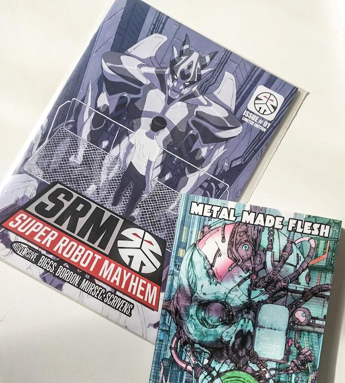 Super Robot Mayhem Issue #1