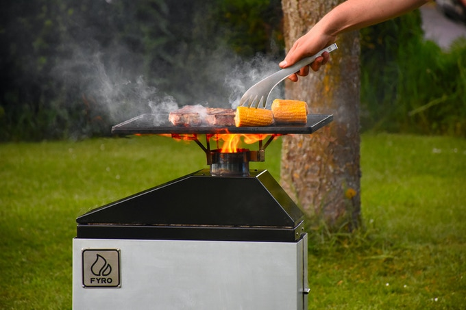 Perfect to grill with a griddle