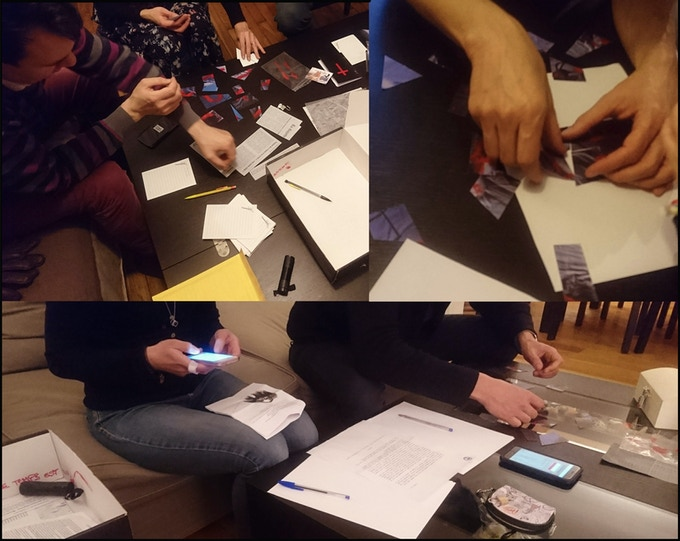"Playtesting the prototype of ""Apocalypse"""