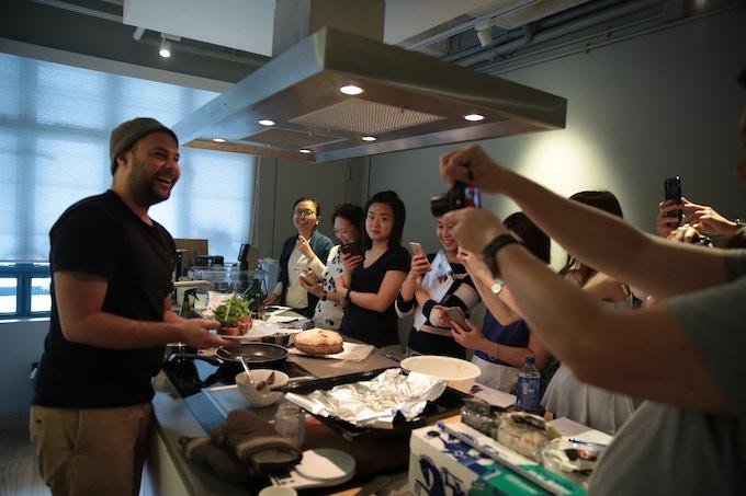 Sourdough workshop at PMQ taste library