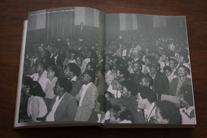 Full house at Hager Fiker theatre in the early 1980's.