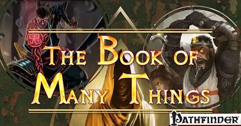 Book of Many Things Kickstarter