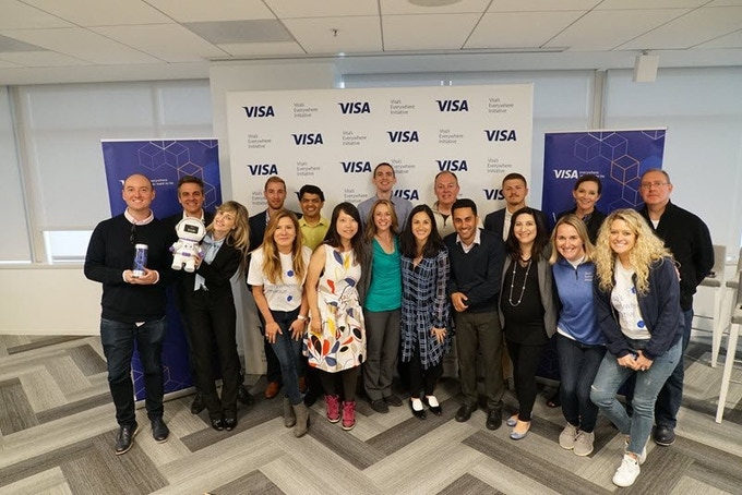 Update! We're off to the finals of VISA's Everywhere Initiative