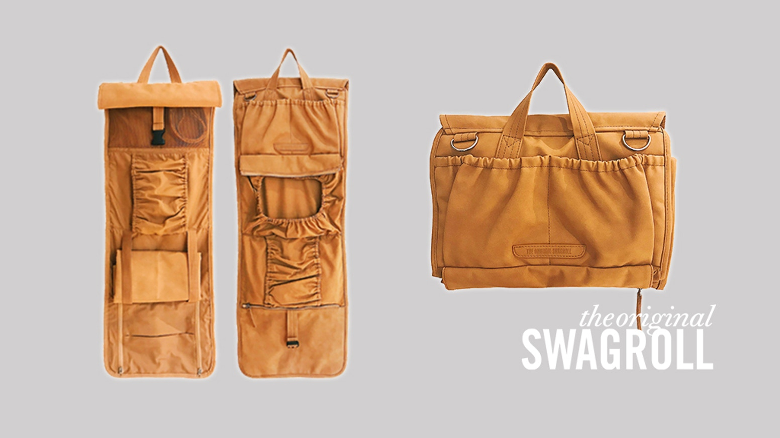 The diaper bags and wallets have all been fulfilled. But, it's not too late!Please head to www.theoriginalswagroll.com to get yours. Follow us on Instagram @theoriginalswagroll for the latest news!