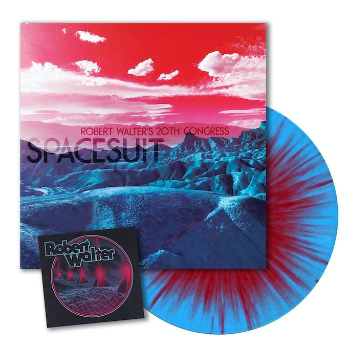 Nebulae Color-Splatter Vinyl & Pyramid Laser Sticker