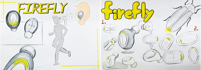 Initial Sketch Of Firefly