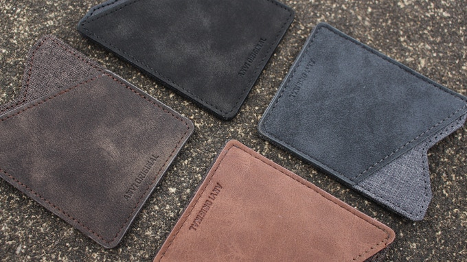 More color options: Black, light gray, dark brown, light brown