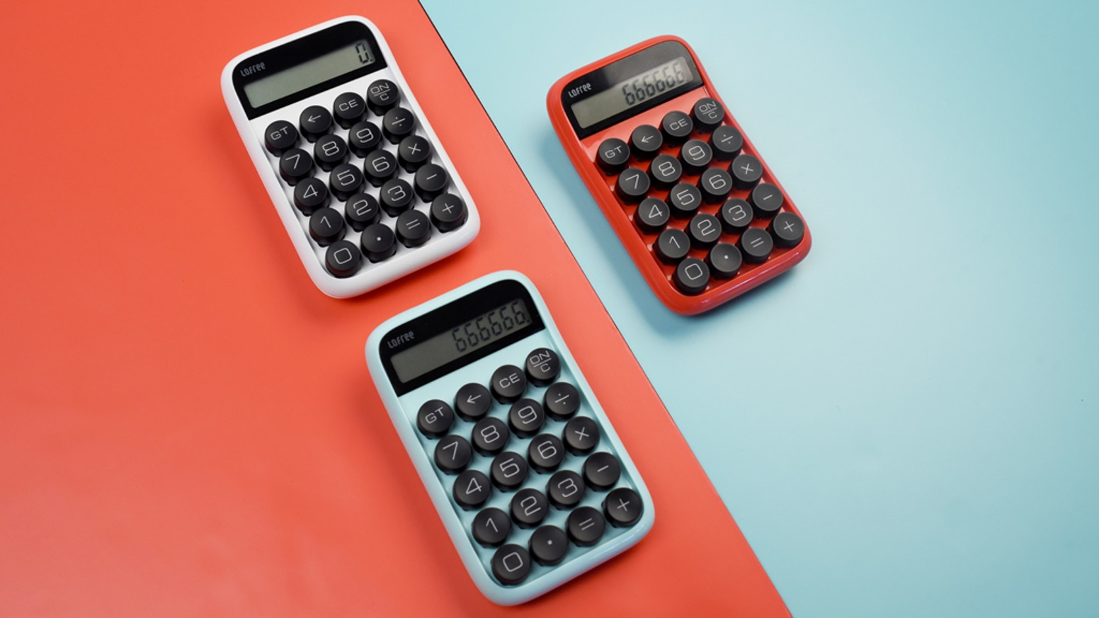 A Retro Yet Mechanical Calculator.