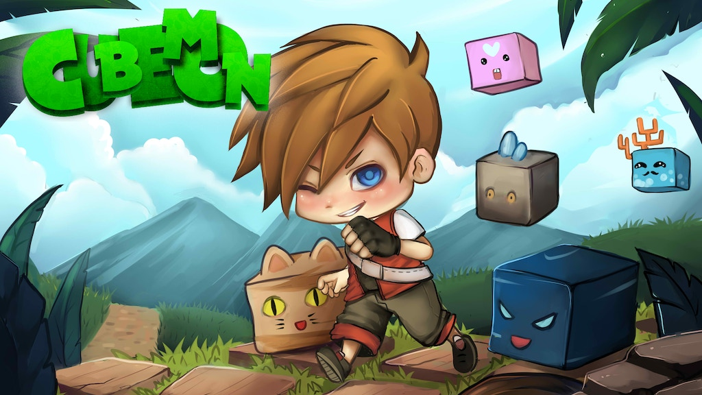 Cubemon - A Open World Adventure RPG