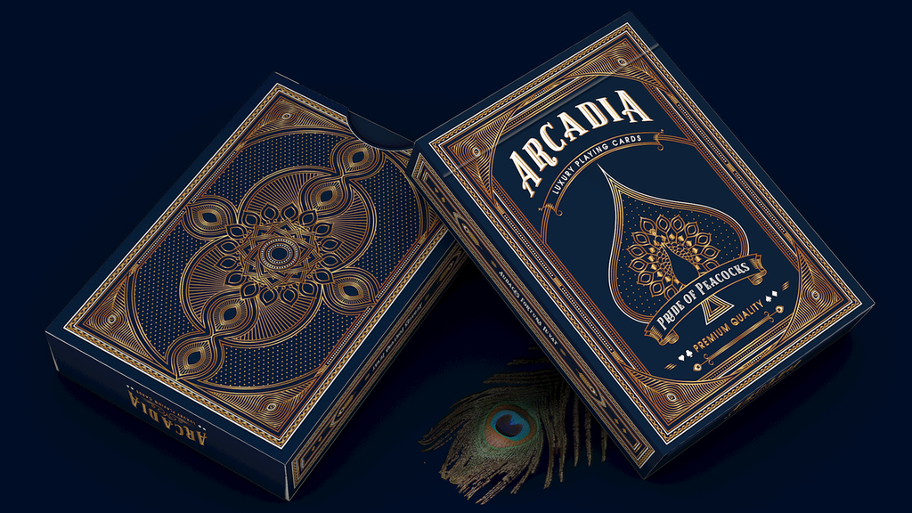 Pride of Peacocks by Arcadia Playing Cards