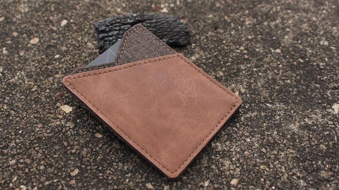 Light brown color options front side details