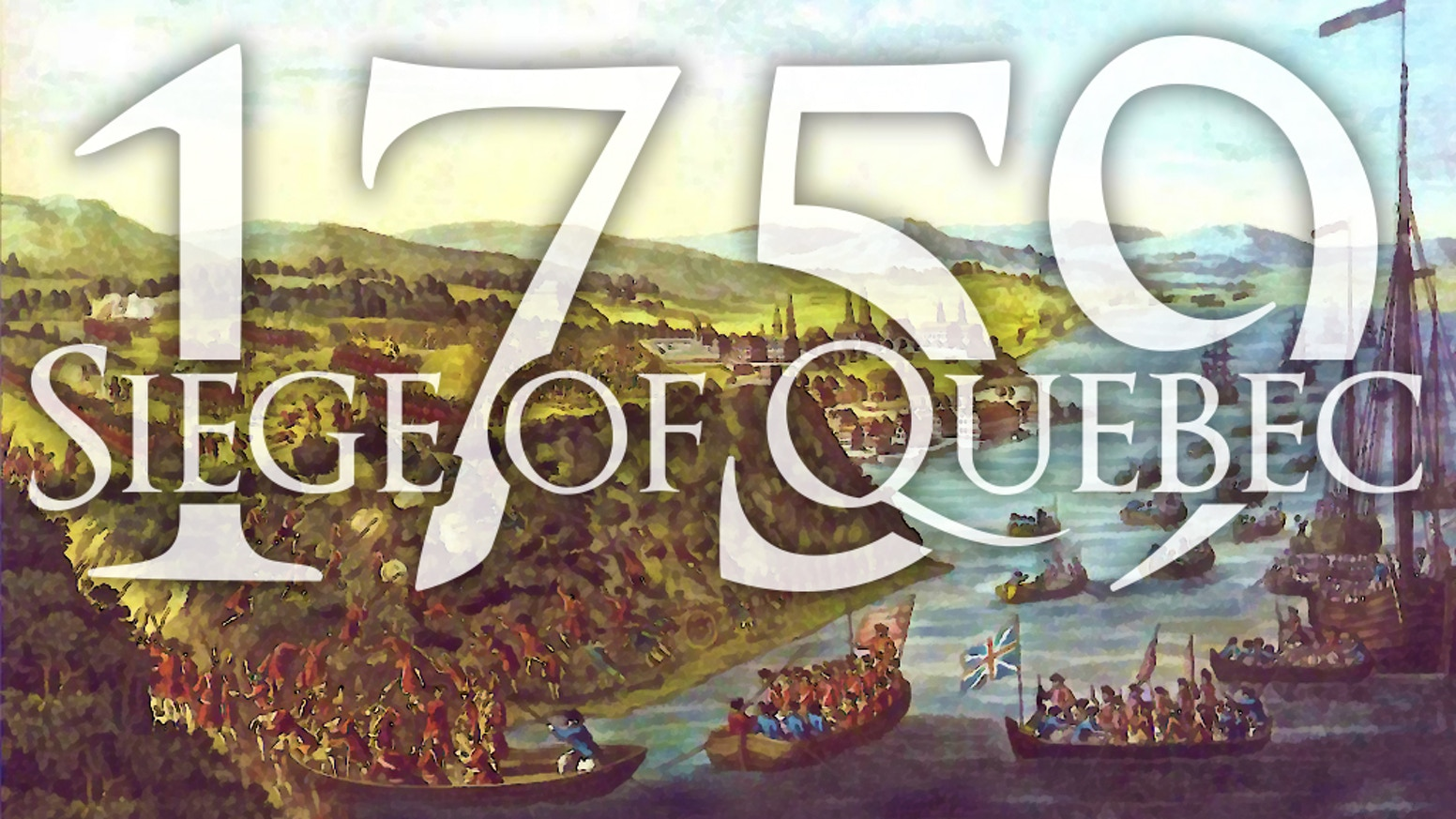 Designed for solitaire play and playable by 2 players.  Refight the 1759 Siege of Quebec in the French & Indian War.
