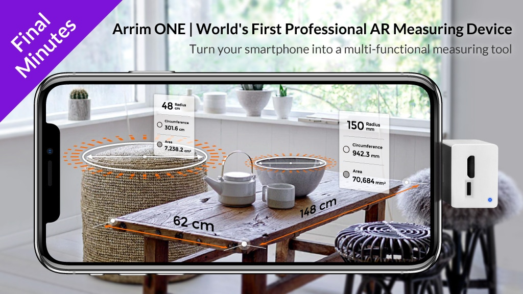 Arrim ONE: World's First Professional AR Measuring Device project video thumbnail