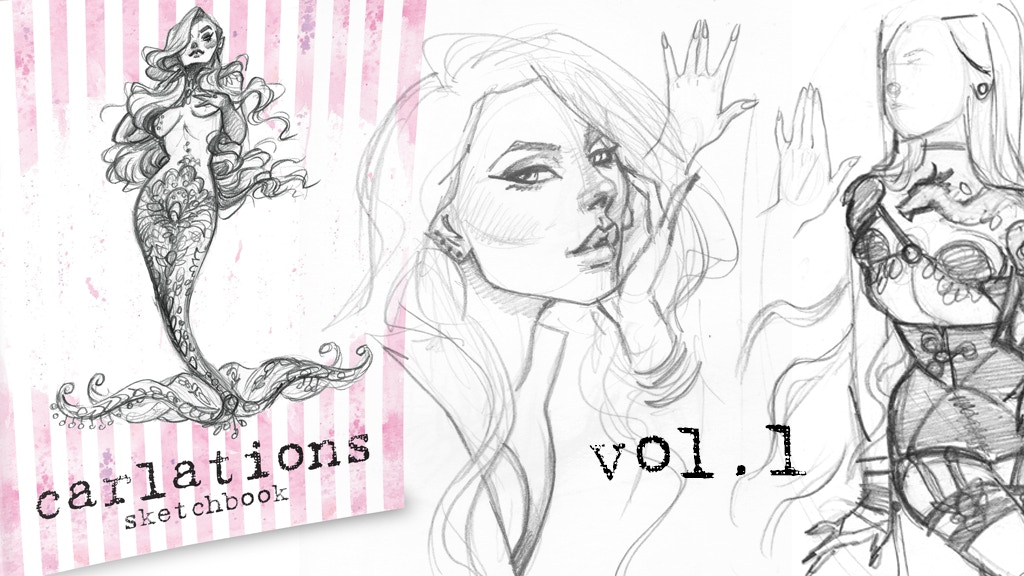 Carlations Sketchbook vol.1 project video thumbnail