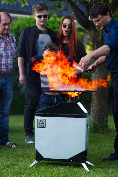 Flambé: Cooking with fire is just more fun!