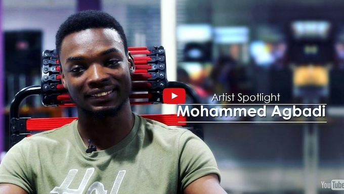 Mohammed Agbadi talks about being a concept artist and illustrator