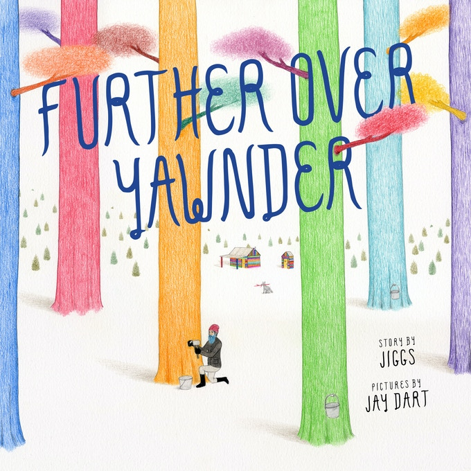 Further Over Yawnder – cover concept (work in progress)