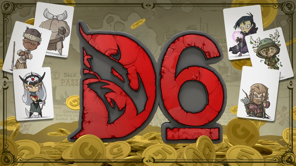 D6: Dungeons, Dudes, Dames, Danger, Dice and Dragons! project video thumbnail