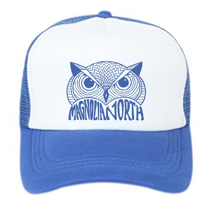 Trucker Hat with Screen Print Owl by TK