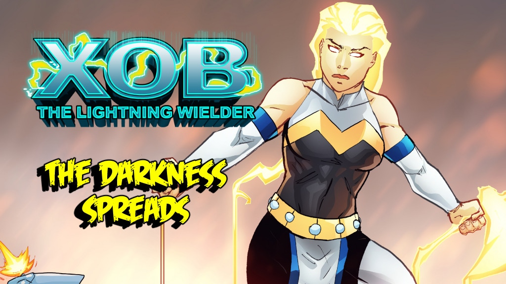 Xob the Lightning Wielder issue 2: The Darkness Spread project video thumbnail