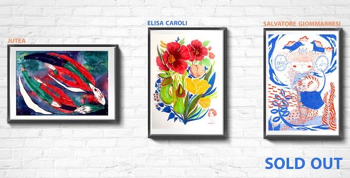 Original Artworks by Jutea\Elisa Caroli\Salvatore Giommarresi