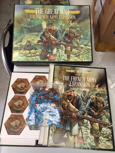 Project Updates for Richard Borg's The Great War: French