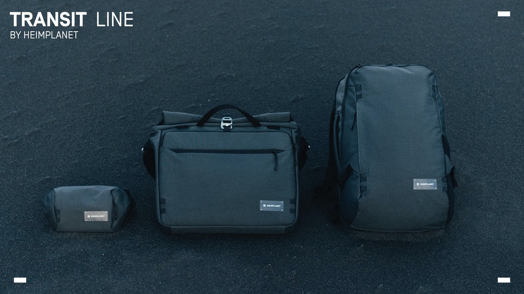 HEIMPLANET Transit Line - Everyday travel bags