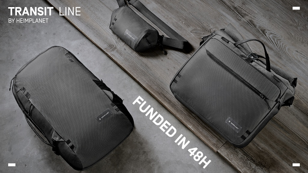 HEIMPLANET Transit Line - Everyday travel bags project video thumbnail