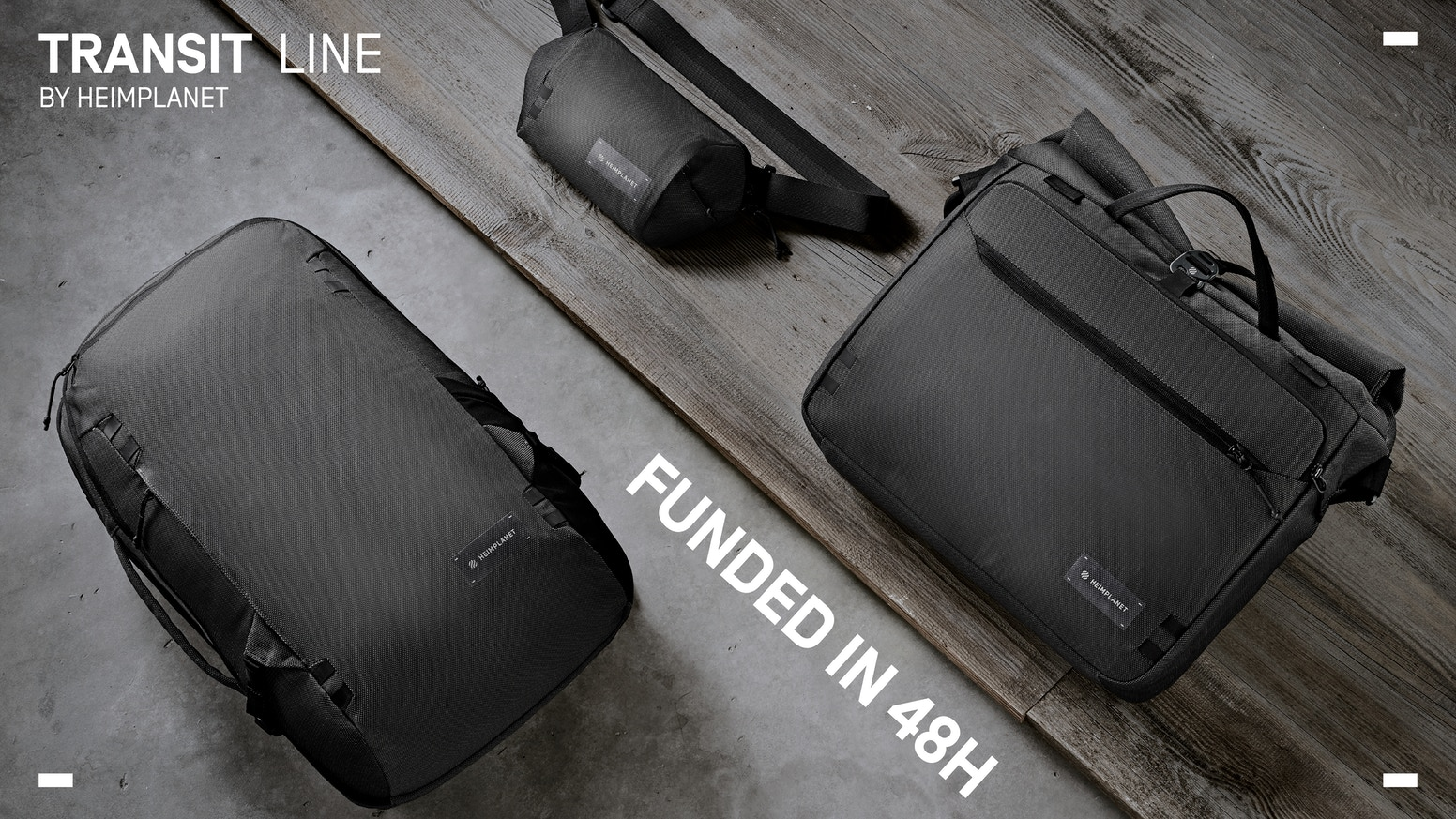 functional - durable - sustainable  -  probably the last bags you will ever need.