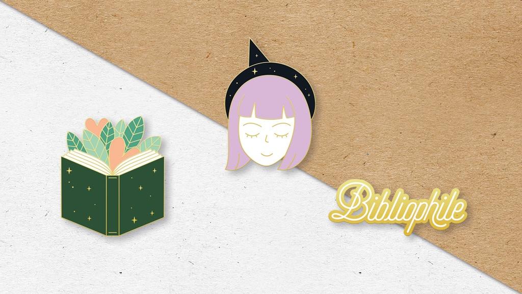 Pin's inspirés par la littérature, la nature et l'imaginaire