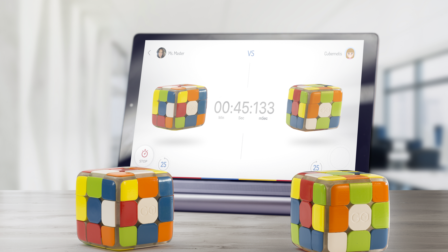 An incredible smart connected cube with tracking and whole new way to cube. Learn, improve, and even compete.