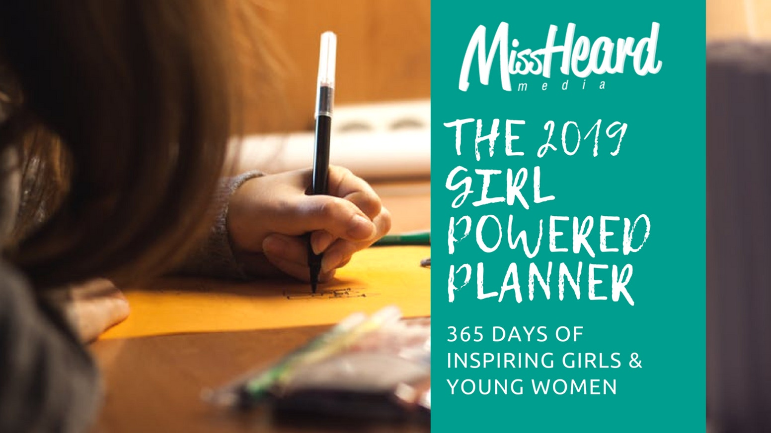 A girl-powered planner to inspire young women all year long, because girls' history is American history