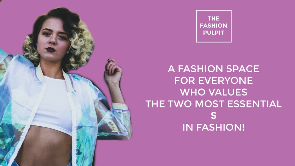 The Fashion Pulpit project video thumbnail