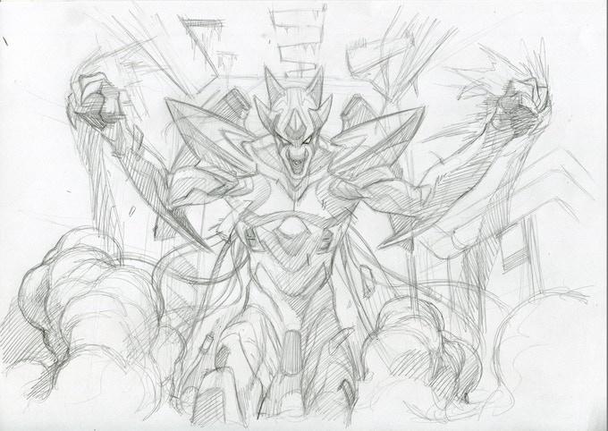 Pencils and concept art