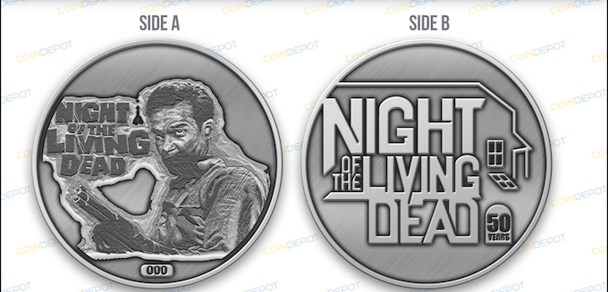Official NOTLD 50th Anniversary coin