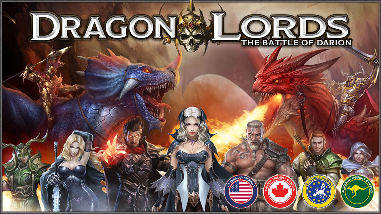 A skirmish-based card game, in which 2 players build armies and battle head to head.
