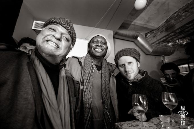Michael Zerang, Hamid Drake, Tim Daisy, Krakow / Poland