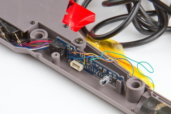 Earlier Modern Mallard prototype board in a Zapper
