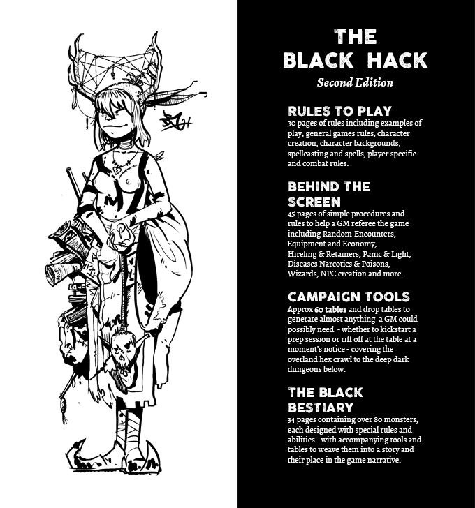 The Black Hack RPG Second Edition by Peter Regan — Kickstarter
