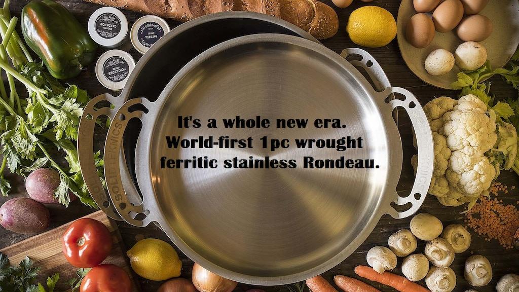 Solidteknics BIG 1pc wrought ferritic stainless nöni pans!<3