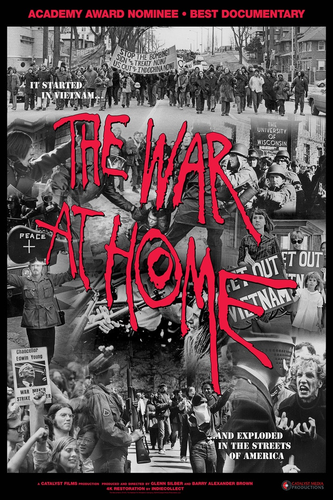The War at Home film poster, 24 x 36 inches