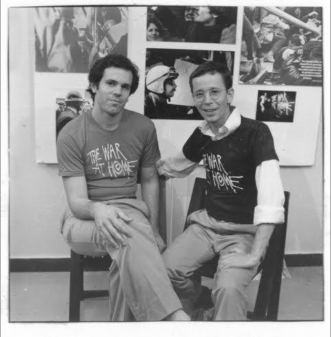 Co-directors Glenn Silber and Barry Alexander Brown, 1979