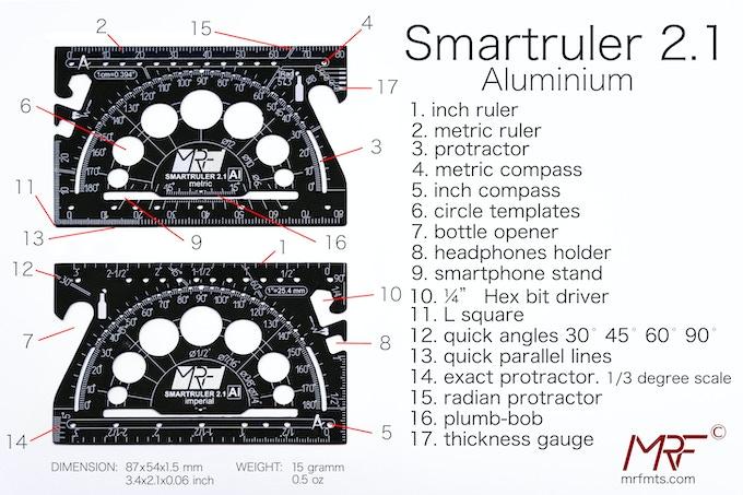 ALUMINIUM 2.1 SMARTRULER