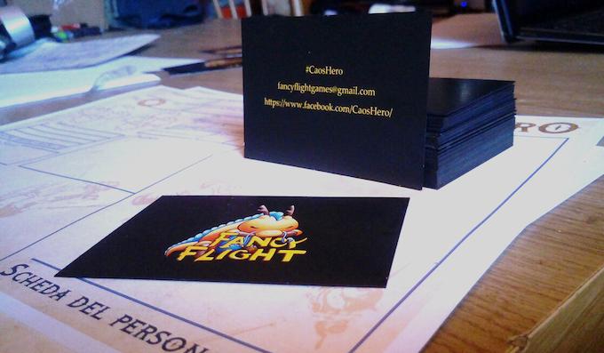 Fancy Flight business cards