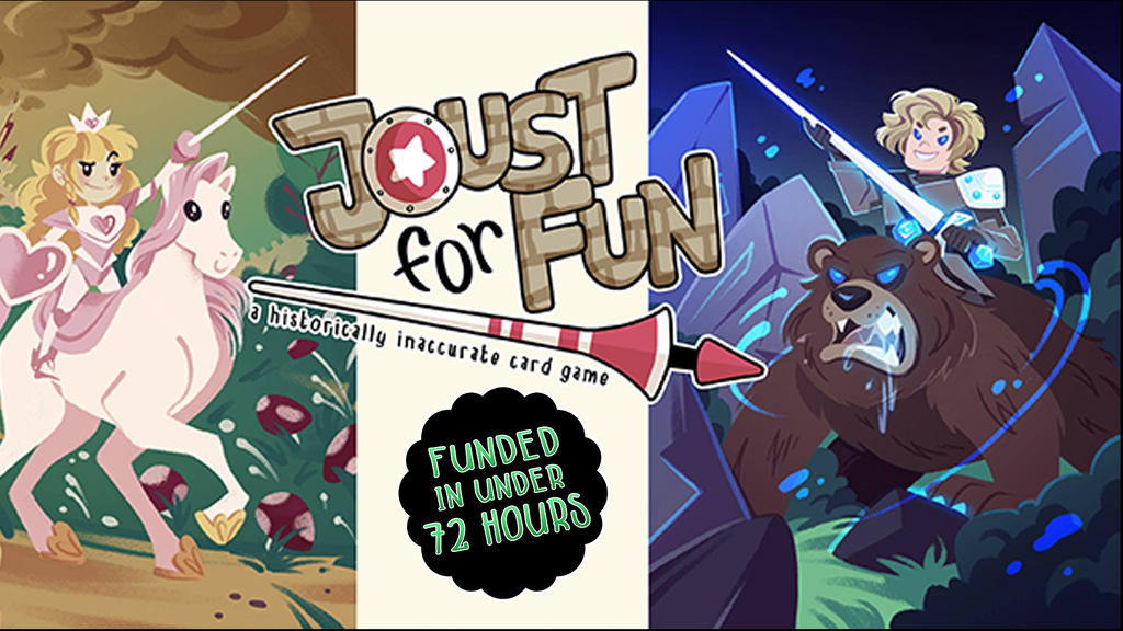 Joust for Fun: A Historically Inaccurate Card Game project video thumbnail