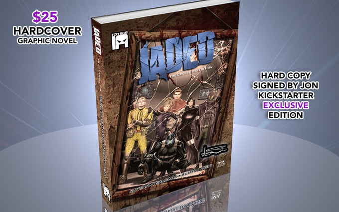 Includes Kickstarter Exclusive 8 Page backup story!